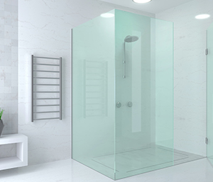 modern glass shower door